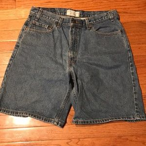 Levi's Men's Relaxed Fit Shorts Sz 36 W Jean